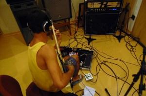 Horizon microfonado com dois Shure SM-57