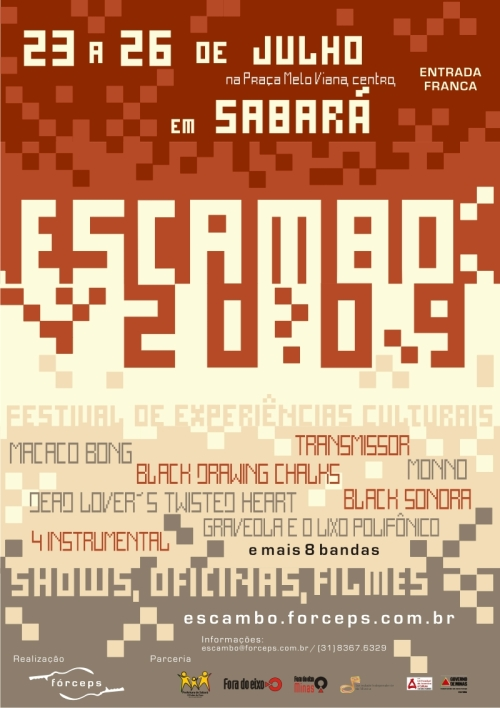 final_cartaz - ESCAMBO 2009
